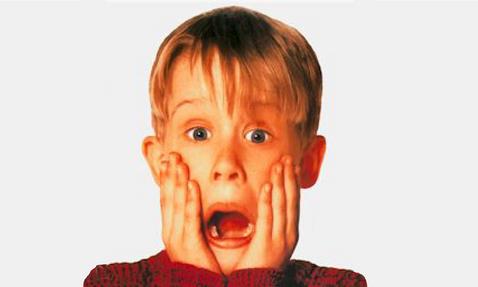 Le seul enfant qui savait vraiment montrer qu'il avait l'air d'avoir peur!