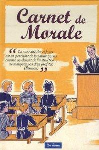 Carnet de morale moralement conclusion