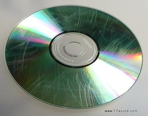 dvd cd scratché graphigné erraflé scratched broken