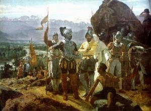 Conquistador, invasion