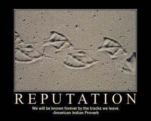 Travailler votre réputation