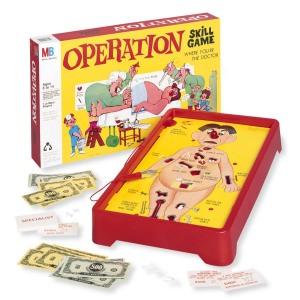 operation game jeu opération