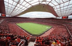 stade fan rouge